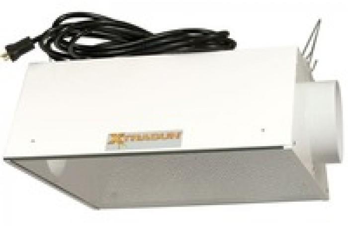 Reflector XtraSun AC 150mm Cool air para cultivo armario interior marihuana Reflector XtraSun refrigerado sistema cool-tube