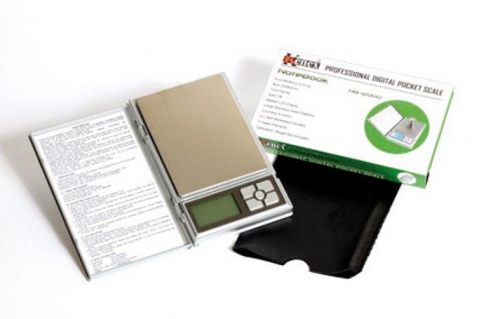Báscula Digital Kenex Notebook 2000/0,1gr