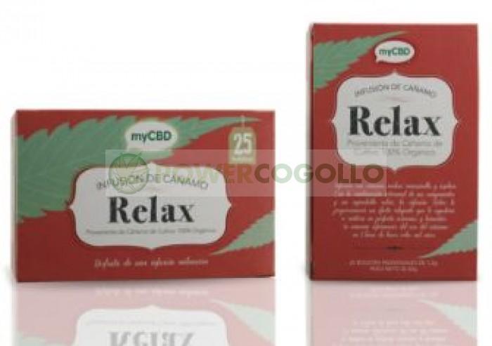 MyCBD Té Relax (25 bolsitas individuales infusión)