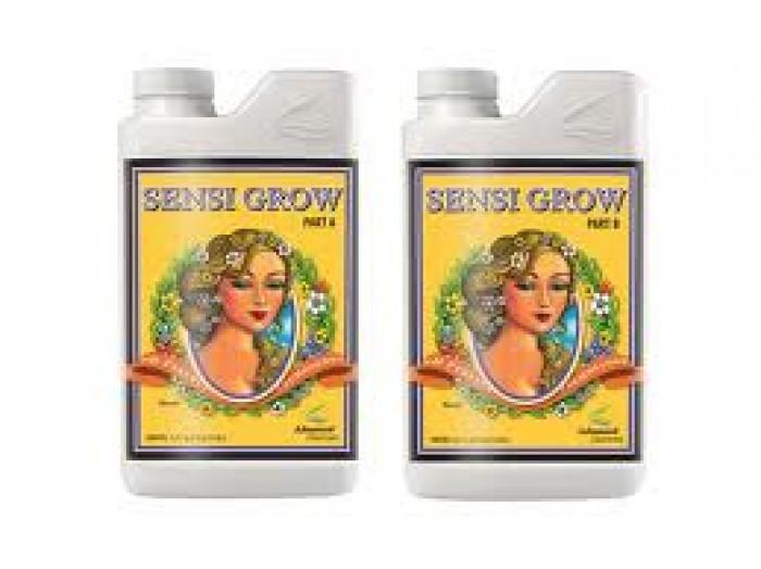 Abono para Crecimiento de Cannabis Sensi Grow A+B (Advanced Nutrients)