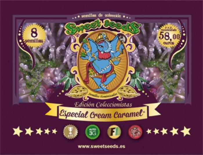 Ed. Especial Cream Caramel (Sweet Seeds) Semillas Feminizadas