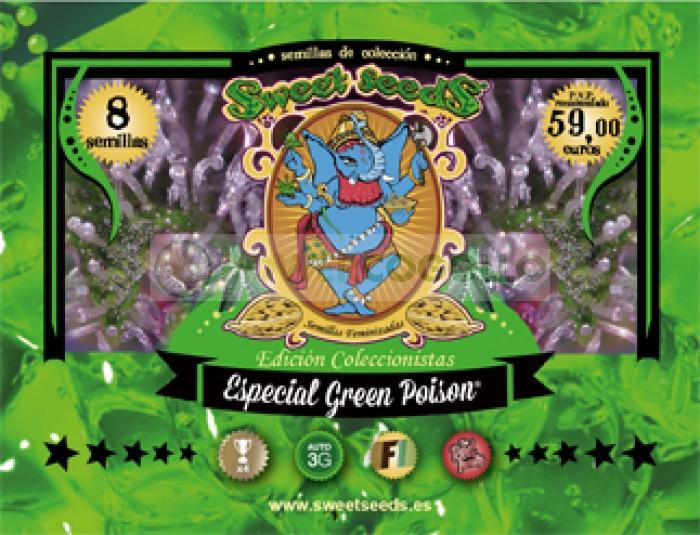 Ed. Especial Green Poison Semillas Feminizadas de Sweet Seeds