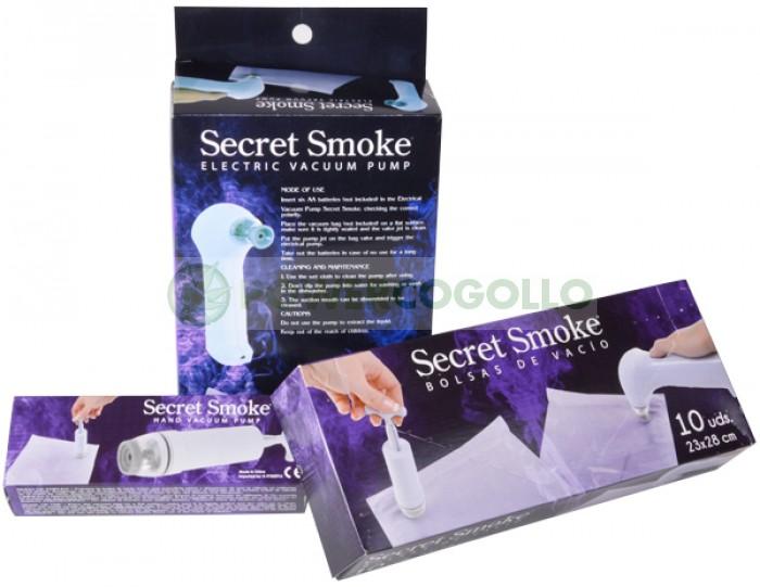 Bolsas de vacío 23*28cm (10 uds) Secret Smoke