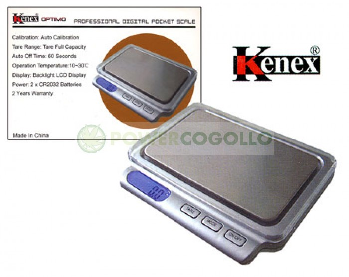 Báscula Digital Kenex Optimo 400 gr / 0,1gr de gran Precisión