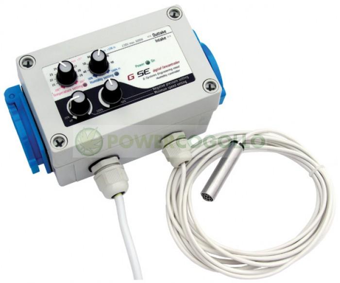 Controlador de Temperatura y Humedad + Doble Presión (GSE)