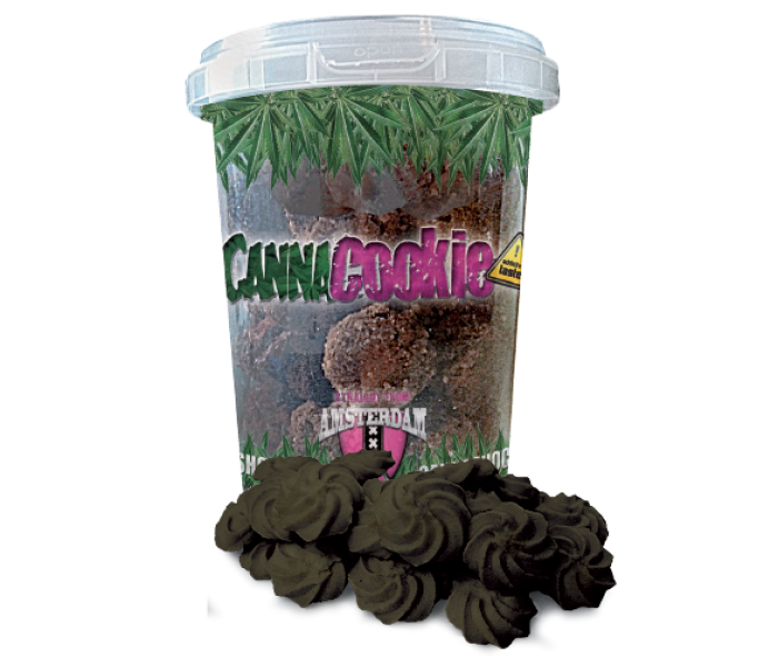 CannaCookie Chocolate Galletas con Marihuana