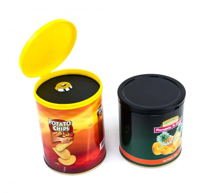 Bote de Patatas Chip Ocultación