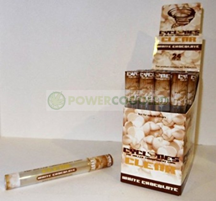 Cono Transparente Cyclones Chocolate Blanco
