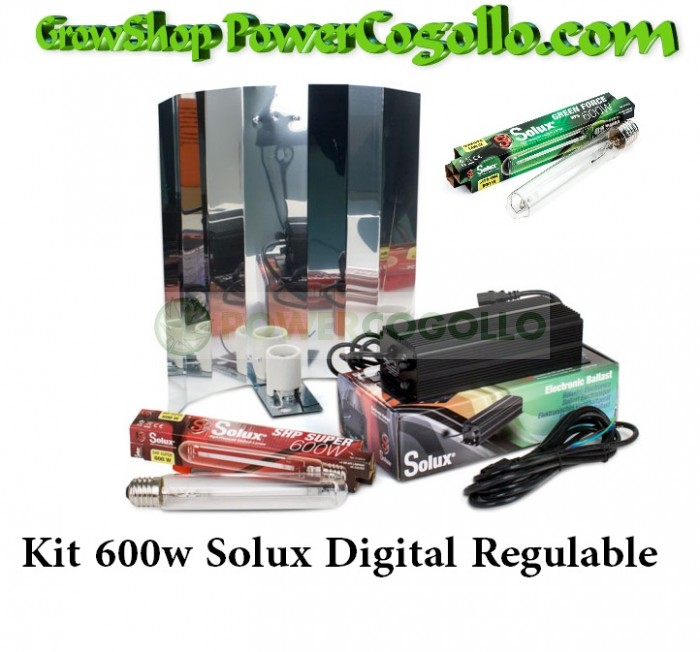 Kit 600w Solux Digital Regulable