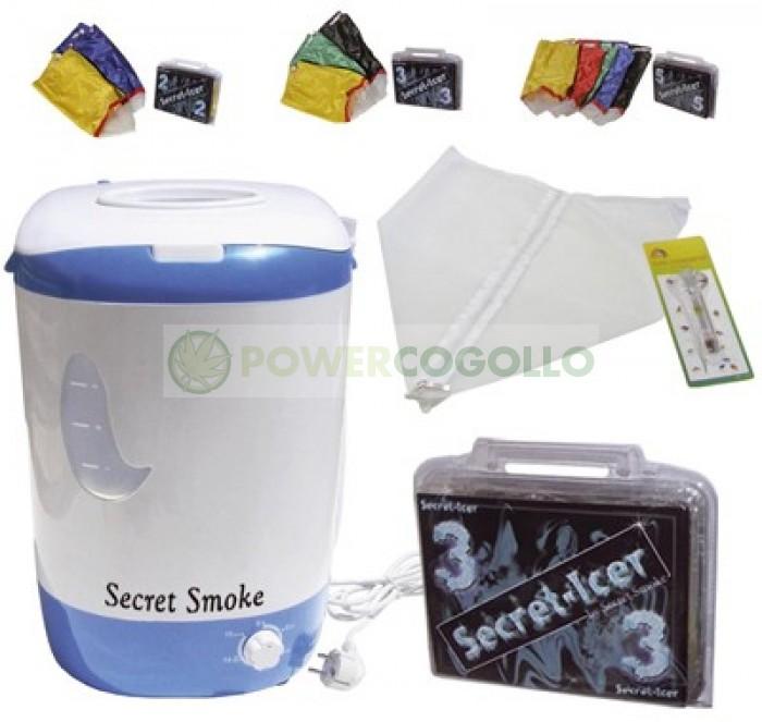 Kit lavadora + Secret-Icer 3 mallas