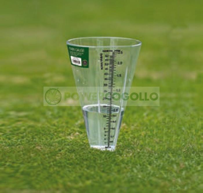 Pluviómetro medición de lluvia