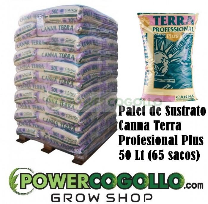 Palet Sustrato Canna Terra Profesional Plus 50 Lt (65 sacos)