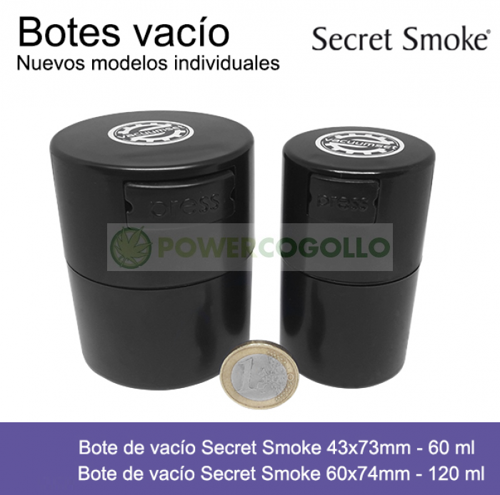 Bote de vacío Secret Smoke