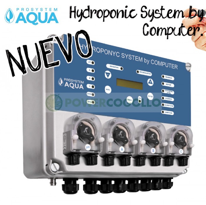 Controlador Cultivo Hydroponic System by Computer