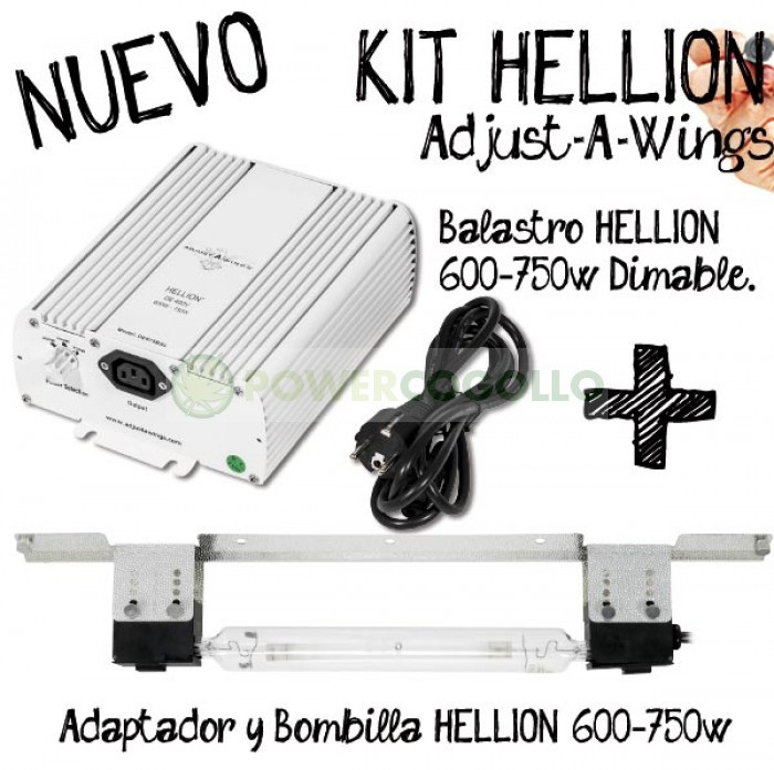 Kit Hellion Regulable Potencia 600W 750W DE