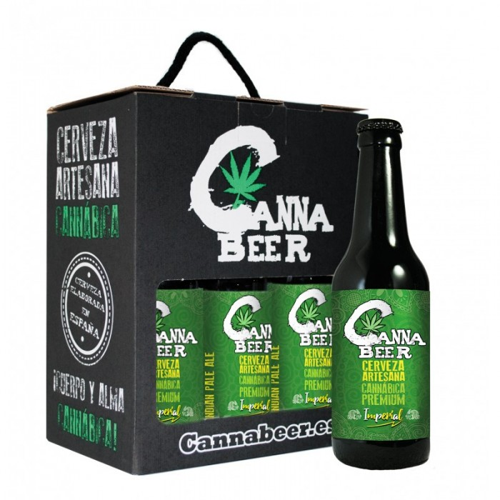 Cannabeer Imperial 33cl Cerveza Cannabis