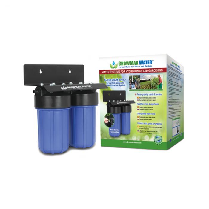 FILTRO DE AGUA SUPER GROW 800 L/H (GROWMAX WATER)