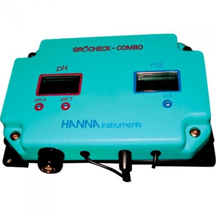Medidor Continuo Combo (PH+EC) Grocheck (Hanna)