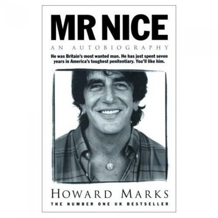 Libro Mr. Nice. Howard Marks antigua edicion