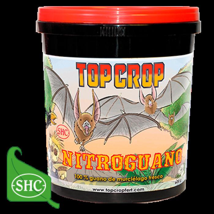 Nitroguano 600gr (Top Crop) Guano de Murciélago Abono Cultivo