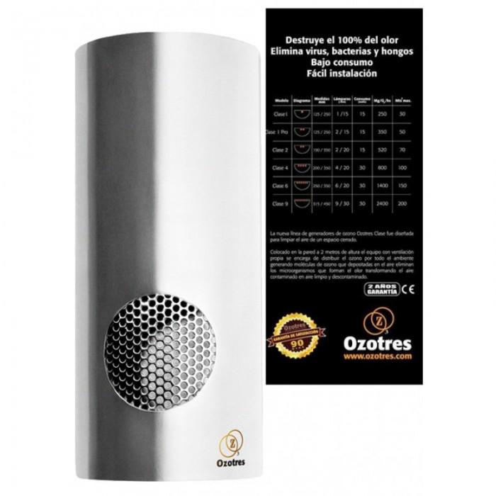 Ozonizador Pared Clase1 Pro (Ozotres) Generador de Ozono    Encuentra en nuestros GrowShop PowerCogollo.com los mejores Ozonizadores para eliminar los Olores de tu Cultivo con el precio más Barato  Ozonizador Pared Clase1 Pro (Ozotres)  Ozotres Clase 1 Pr