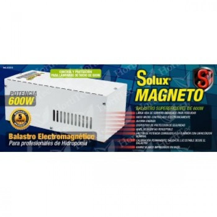 KIT 600 w SOLUX MAGNETO HORTILIGHT VANGUARD PLUG and PLAY