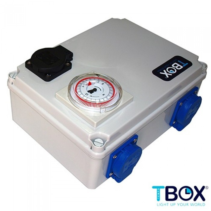 TEMPORIZADOR 4x600W + CALEFACCION TEMPO BOX