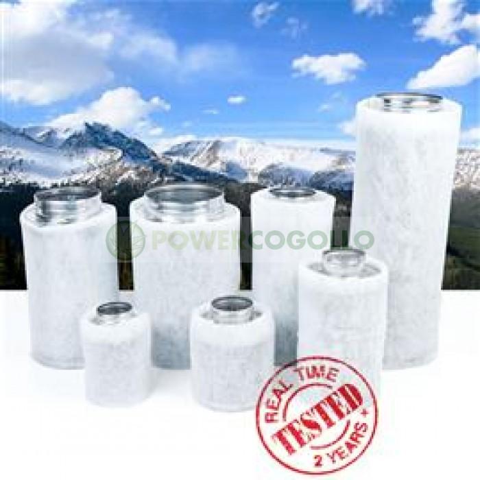 Filtro Carbón Mountain AIR 250/ 500 1070 m3/h Anti olor para el cultivo