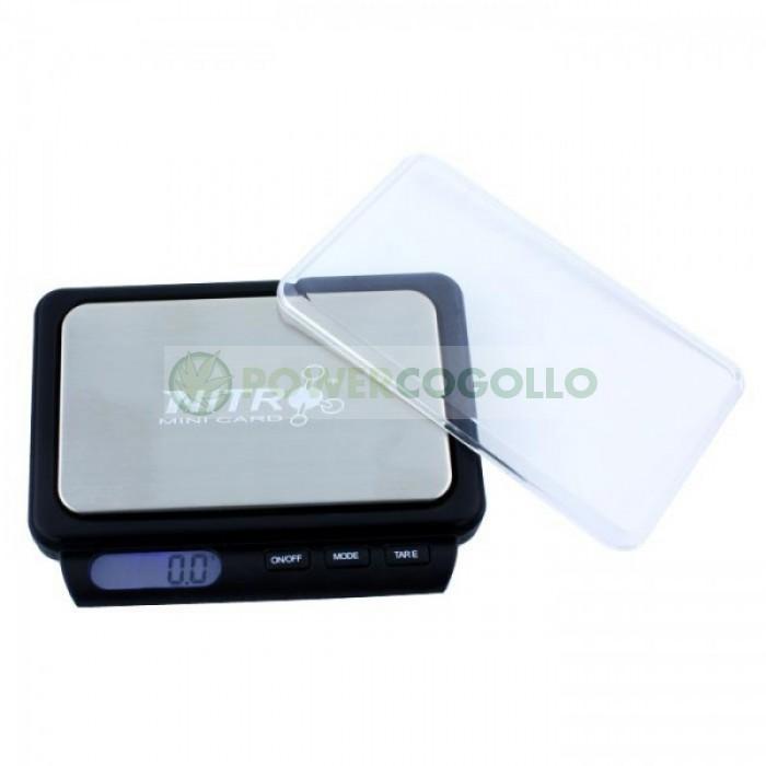 Básculas Digitales Precisión Nitro NTR-500gr/0,1gr Balanza de bolsillo de precisión de Fuzion Nitro NTR con precisión de 0,1gramos