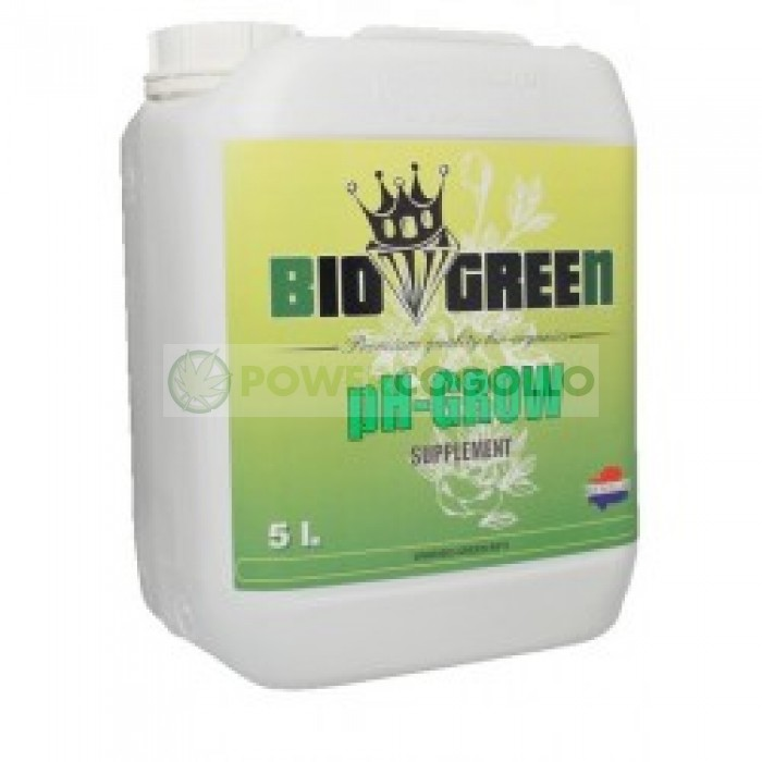 PH MIN GROW BIOGREEN REDUCTOR DE PH EN EL AGUA DE TU CULTIVO