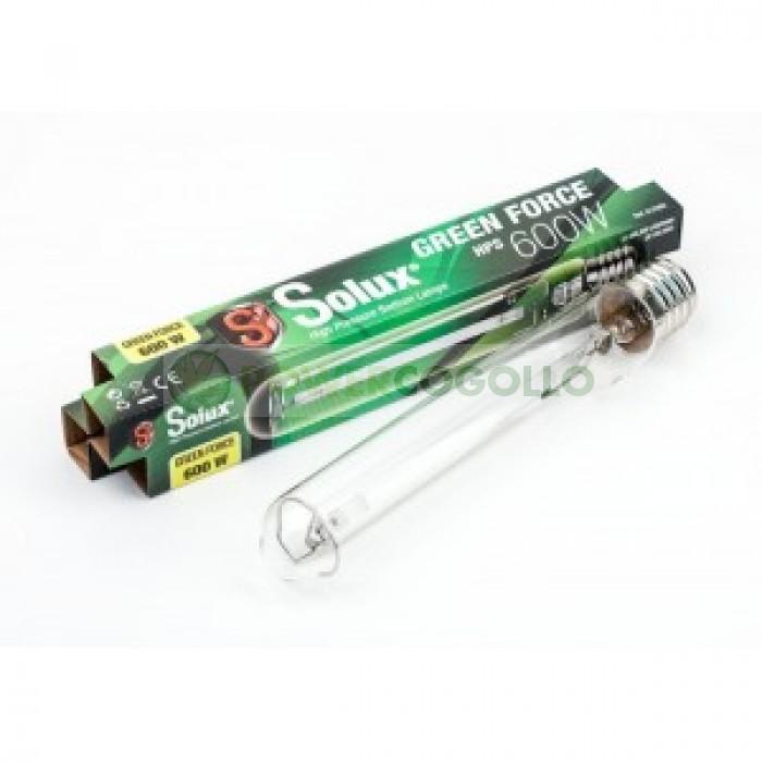 Bombilla de 400w SOLUX GREEN FORCE crecimiento y floración para el cultivo de Cannabis