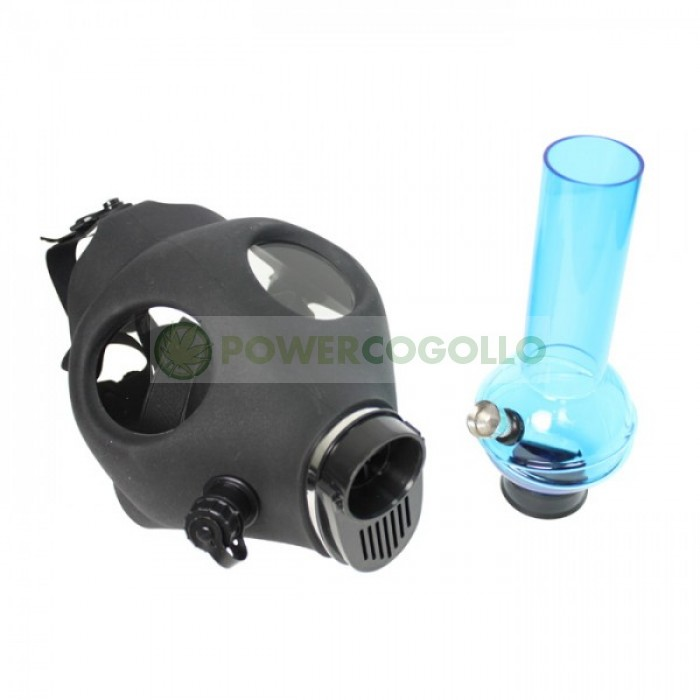 Bong Máscara de Gas