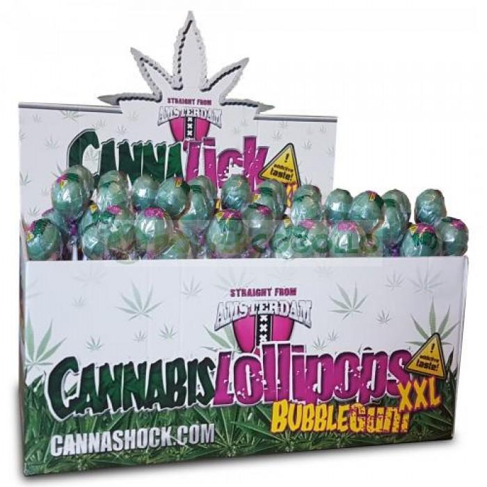 CannaLick Chupa Chup Green Bubblegum (Cannashock)