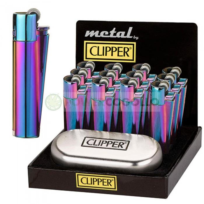 Mechero Clipper Icy Colours + Caja Metálica  (Edición Especial)