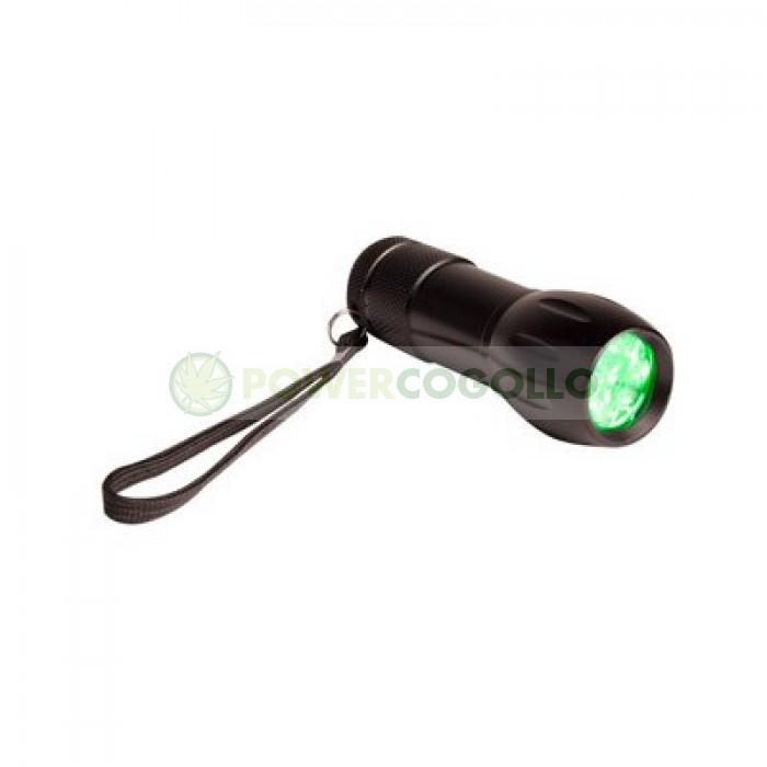 Comprar Linterna Active Eye Luz LED verde para el Cultivo
