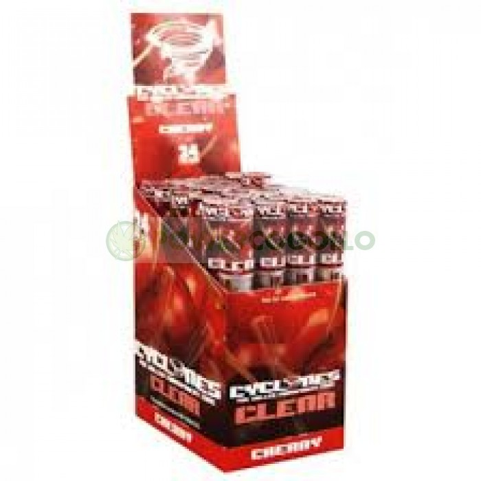 Cono Transparente Cyclones Cherry