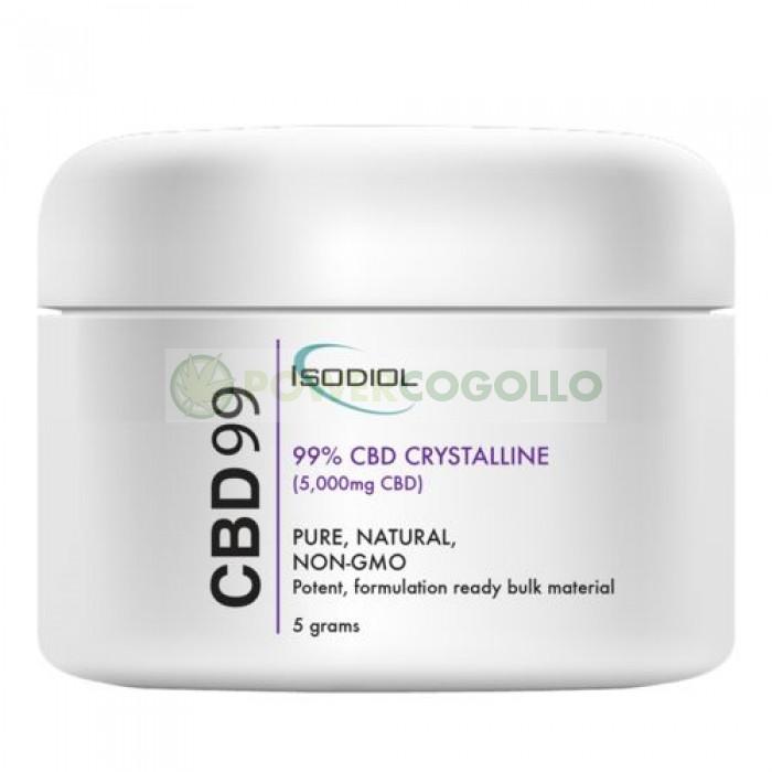 Cristales Isodiol CDB 99% 5gr.