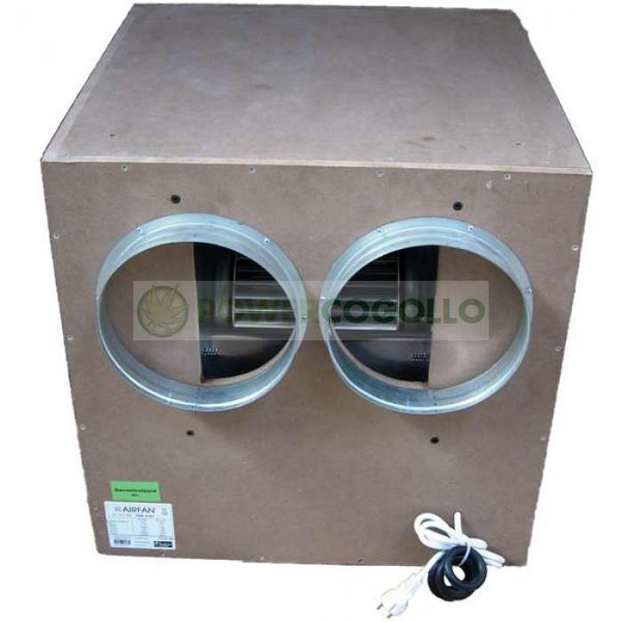 Extractor IsoBox Caja Madera MDF Insonorizado