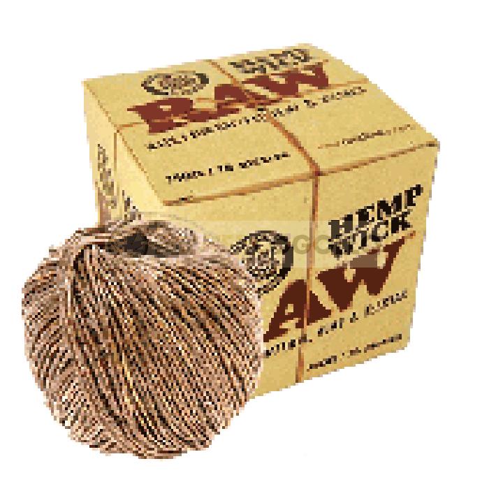 Cuerda de Cáñamo Raw Hemp Wick