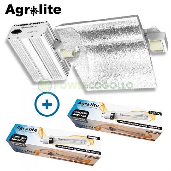 Luminaria LEC 630W (2x315W) Agrolite*-3100K