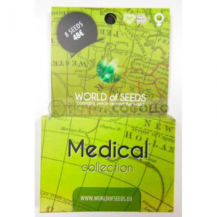 Medical Pack (World of Seeds) 8 Semillas Feminizadas