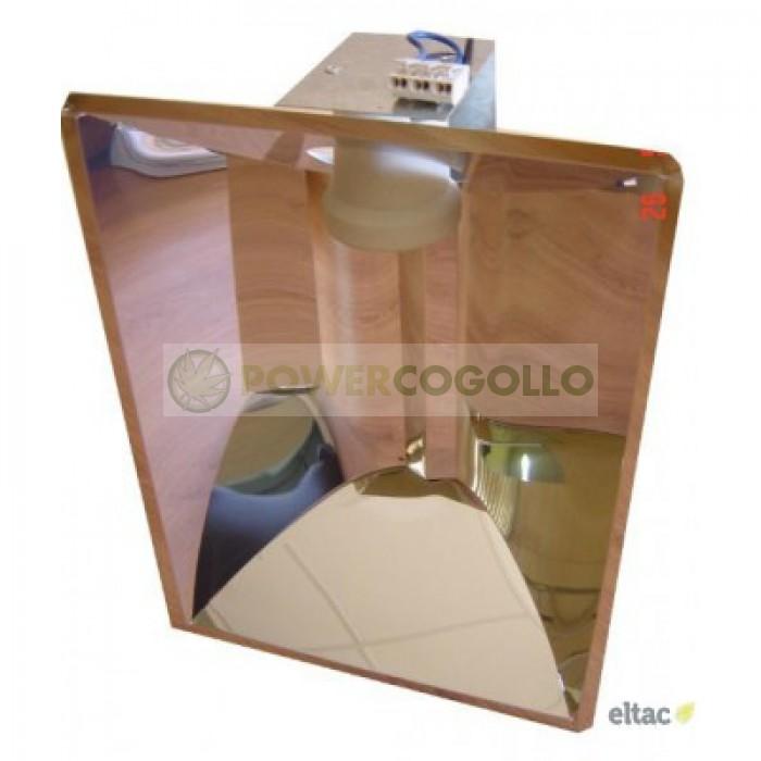 Reflector Megalux Liso con Casquillo
