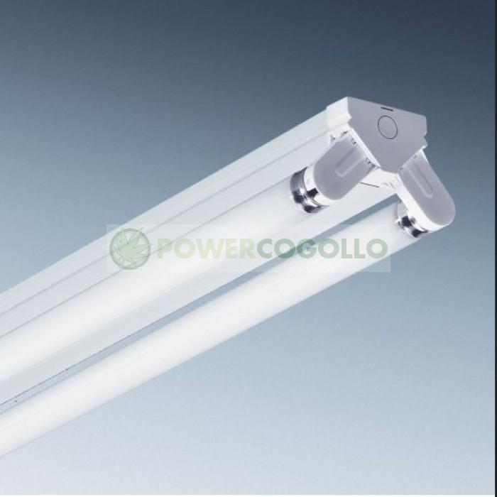 Regleta industrial tubos fluorescentes 2x36w - Tubo fluorescente 36w precio ...