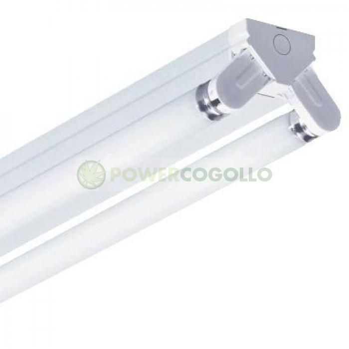 Regleta Industrial Tubos Fluorescentes 2x58w