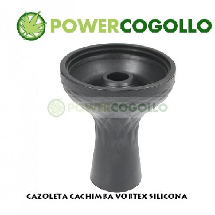 CAZOLETA CACHIMBA VORTEX SILICONA