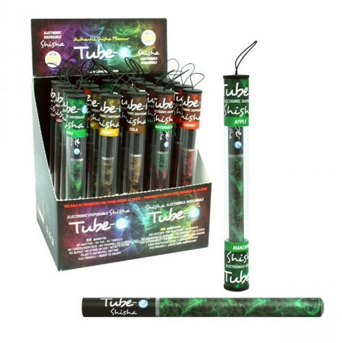 Cigarro Shisha Electrónica Sabores Desechable Tube-e sin nicotina