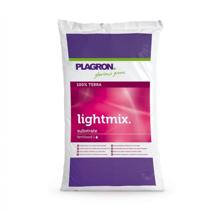 Sustrato Light Mix 50L Plagron para el Cultivo