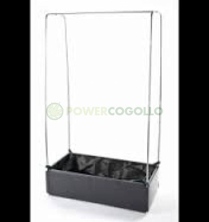 Mini Grow Bed con estructura metálica Invernadero
