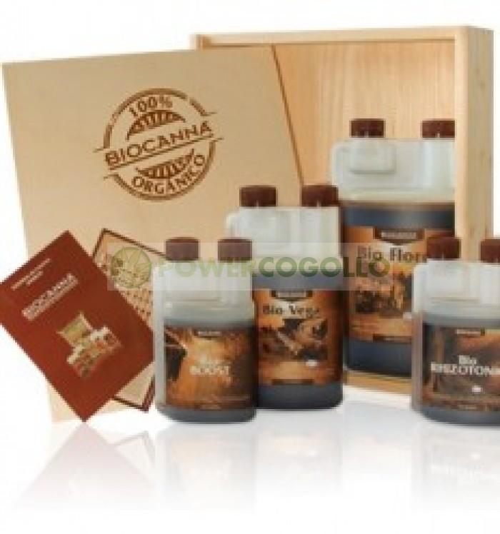 BioCanna Terra Kit Caja Madera