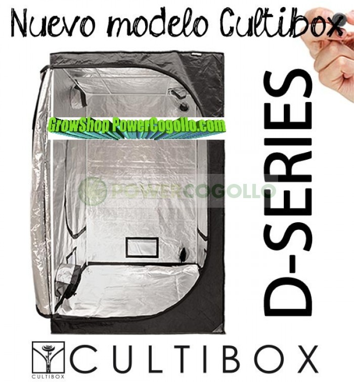 ARMARIO DE CULTIVO CULTIBOX D-SERIES 240X120X200CM
